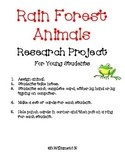 Research Writing: Rainforest Animals