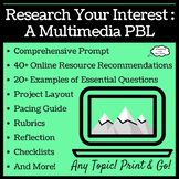 Research Your Interest Multimedia PBL