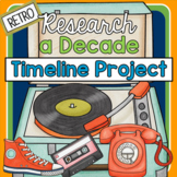 Timeline Project- Research a Decade in the 20th Century