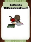Research a Mathematician Project