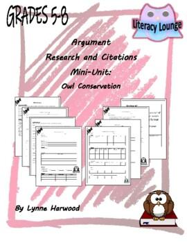 Research and Citations Mini-Unit