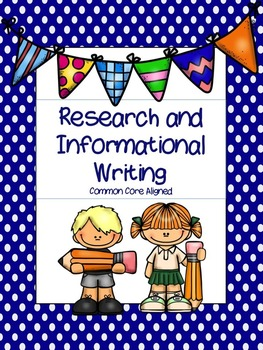 Research and Informative Writing