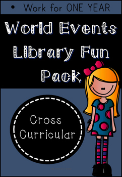 Library Fun Pack - World Events (Research and Writing Skills)