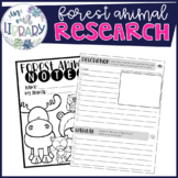 Research and Note Taking {Forest Mammals}