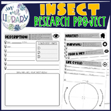 Research and Note Taking {Insects / Bugs}