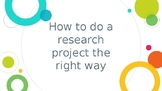 Research and Plagiarism
