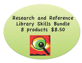 Research and Reference Library Skills Money Saving Bundle:  Print and Digital