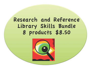 Research and Reference Library Skills Money Saving Bundle: