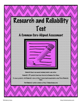 Research and Reliability Test