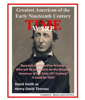 American Reformers of the Nineteenth Century Research & Role-Play Activity