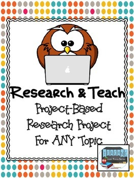 Expert Project for ANY Topic (Common Core 3-6 Aligned)