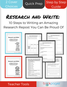 Research and Write: 10 Steps to Writing an AMAZING Research Report
