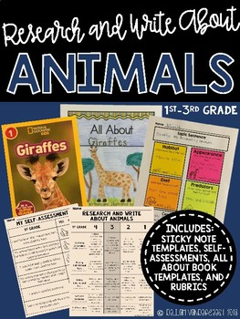 Research and Write About Animals: Creating All About Books Using Sticky Notes