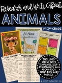 Research and Write About Animals: Creating All About Books
