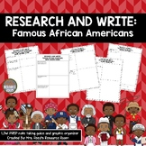 Research and Write: Famous African Americans | Black Histo