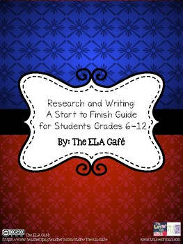 Research and Writing: A Student's Start to Finish Guide fo