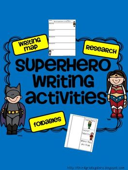 Research and Writing Activities with Superheroes