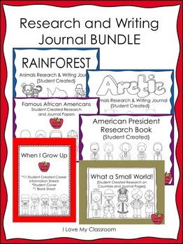 Research and Writing BUNDLE {6 Products}
