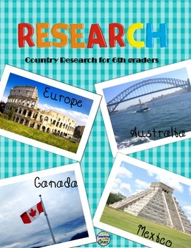 Research for 5th and 6th Graders: Mexico, Canada, Europe, Australia