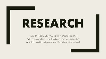 Research for Students