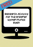Research for The Dreamer by Pam Munoz Ryan