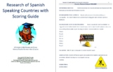 Research of Spanish Speaking Countries with Scoring Guide