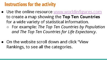 Research on Statistics from Countries around the World