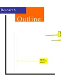 Research paper outline example handout