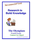 Research to Build Knowledge LEAP practice  -The Olympians