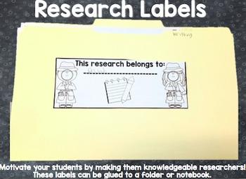 Researcher Labels