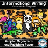 Researching Animals Project (Graphic organizers and Publishing Pages)