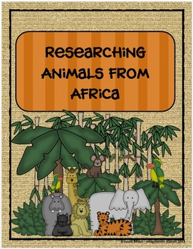 Researching Animals from Africa