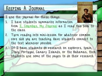 Researching Columbus: Through His Journal and Other Sources
