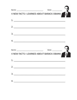 Researching Facts: Barack Obama