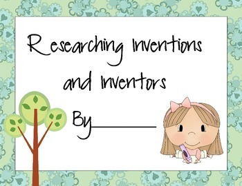 Researching Inventions and Inventors Book