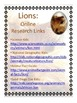 Researching Lions