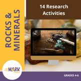 Researching Rocks & Minerals: 14 Activities Grades 4-6