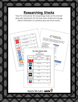 Researching Stocks Project