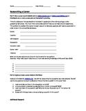 Researching a Career Worksheet