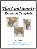 The Continents Research Template