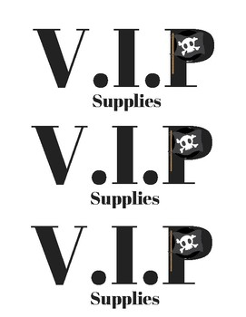 Reserved for a V.I.P. student