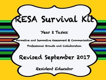 Resident Educator Year Two Survival Kit