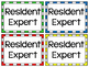 Resident Expert Badges ~ FREEBIE ~ Empower your Students to be Experts!