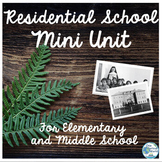 Residential School Mini Unit with Lessons & Activities for