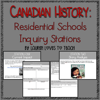 Residential Schools Inquiry Stations (Canadian History)