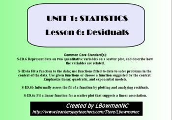 Residuals (Math 1)