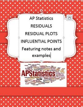 Residuals Residual Plots Influential Points Statistics AP