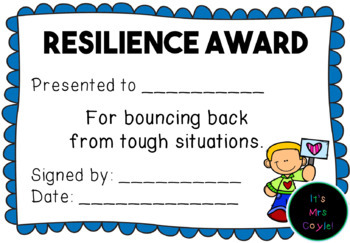 Resilience Awards