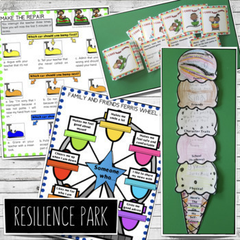 Resilience-Building Group Counseling Programs BUNDLE