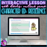 Resilience Interactive Lesson self directed online for dis